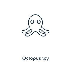 octopus toy icon vector