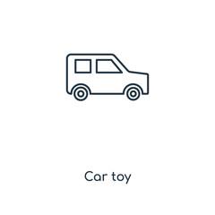 car toy icon vector