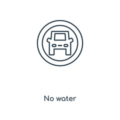 no water icon vector