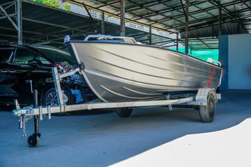 Aluminum boat 14 feet