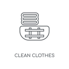 clean clothes icon