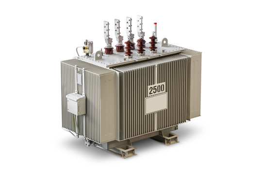 Three phase (2500 kVA) oil immersed transformer