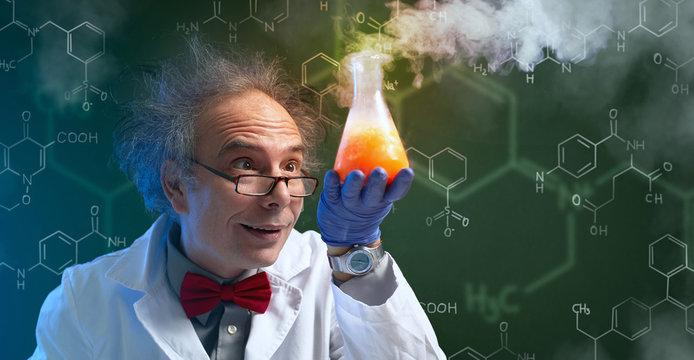 crazy chemist with cure