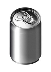 An image of an aluminum beverage can