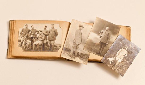 VECCHIE FOTOGRAFIE: 11 novembre, rievocazione prima guerra mondiale 1915/1918