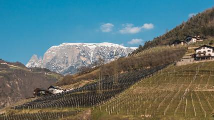 Beautiful view near Bozen - Italy