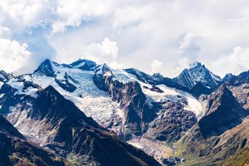 view of mountain tops from Moussa-Achitara mount