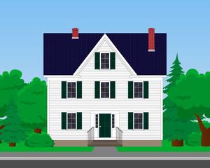 vector family house