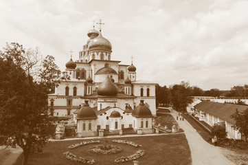 Cathedral in New Jerusalem monastery, Russia