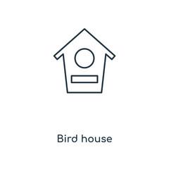 bird house icon vector