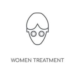 women treatment icon