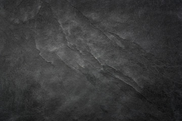 Fototapete - Black Slate Texture Background - Stone - Grunge Texture