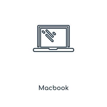 macbook icon vector