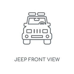 jeep front view icon
