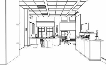 Executive Office 01 (sketch)