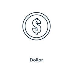 dollar icon vector