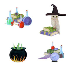Gouache magic set