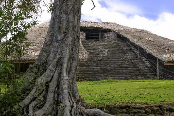 Mexico, Kohunlich, Maya Ruins