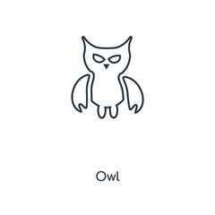 Canvas Prints Owls cartoon owl icon vector