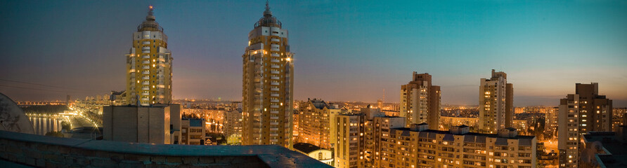 Obolon Night Panorama