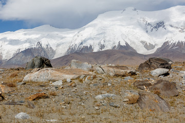 Mighty Pamir Mountains (Xinjjiang, China)