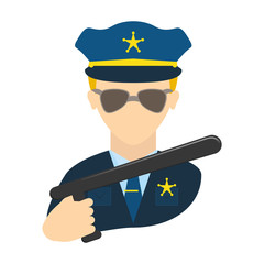 police agent avatar character