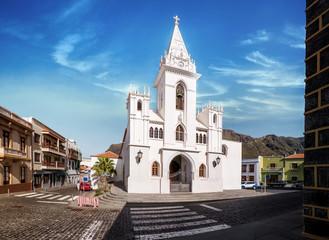 Teneriffa, los Silos, Kanaren, Spanien, Iglesia Nuestra Señora de La Luz