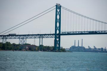 Ambassador Bridge in Michigan