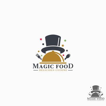 Magic Food Logo Template