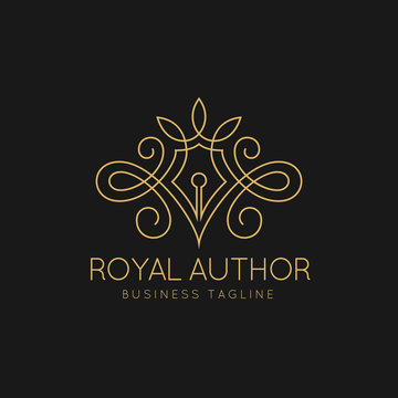 Royal Author Logo Template