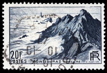 Pointe du Raz Stamp