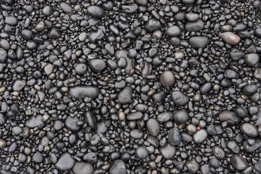 Smooth Wet Stones Texture