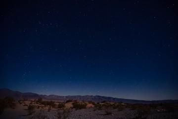 Nachtaufnahme in der Wüste | Death Valley
