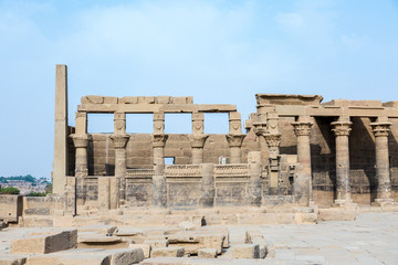 Philae temple on Agilkia Island
