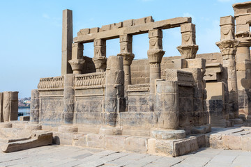 Philae temple on Agilkia Island
