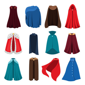 Cloaks party clothing and capes costume set
