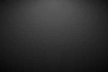 Dark horizontal background with lighting. Vector illustration.