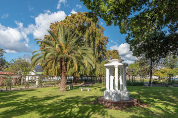 View of Victoria Park in Wellington in the Western Cape