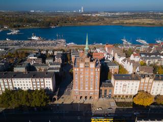 Lange Straße der Hansestadt Rostock