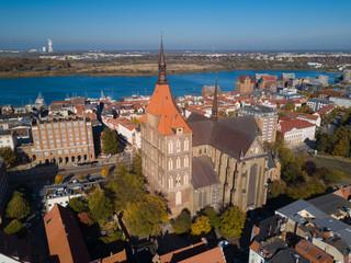 St.-Marien-Kirche in der Hansestadt Rostock
