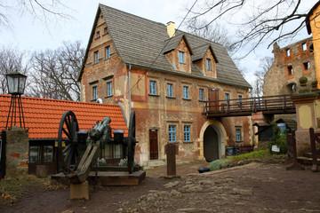 Grodno Castle in Sudetes Mountains, Lower Silesian Voivodeship, Poland