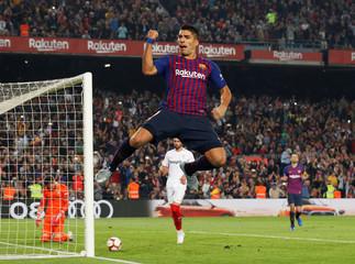 La Liga Santander - FC Barcelona v Sevilla