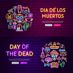 Day of the Dead Website Banners