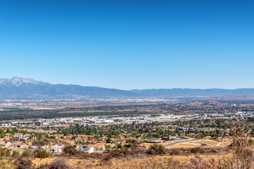 Housing development in inland California