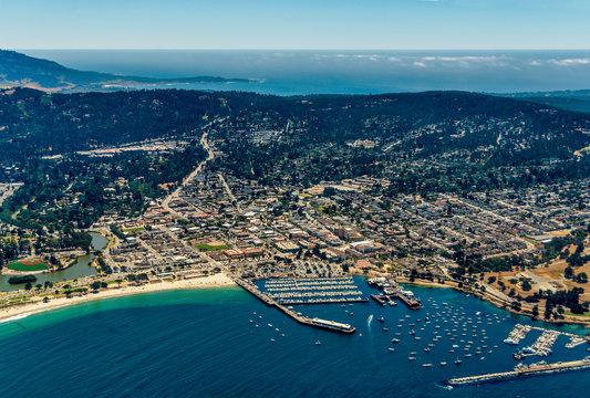 Monterey California Aerial Photo