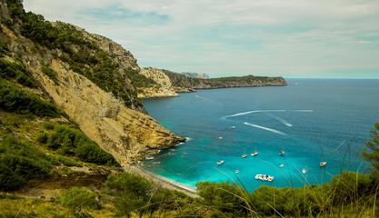 Paradise beach in Mallorca
