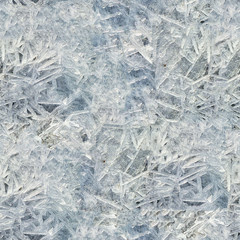 Ice seamless texture. Ice cover seamless background.
