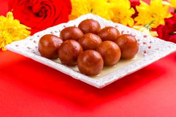 Gulab jamun - indian sweet dish