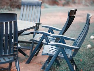Abandoned  garden furniture