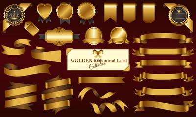 ゴールドメダル&リボンセット